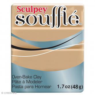 Pâte Sculpey Soufflé - Marron Latte - N° 6301 - 48 g