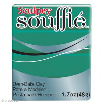 Pâte Sculpey Soufflé - Vert Jade - N° 6323 - 48 g