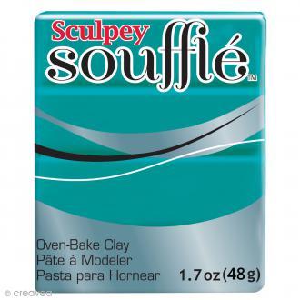 Pâte Sculpey Soufflé - Vert Sea Glass - N° 6505 - 48 g