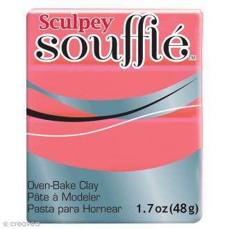 Pâte Sculpey Soufflé - Rouge Mai Tai  - N° 6633 - 48 g