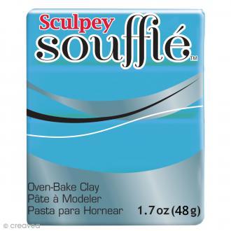 Pâte Sculpey Soufflé - Bleu Robin's Egg - N° 6652 - 48 g