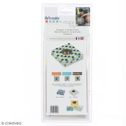Kit pour bougeoir en mosaïque - Bleu Turquoise  - Artemio