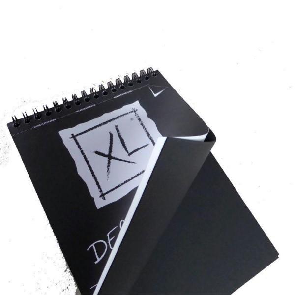 Bloc Canson XL - Dessin Noir Papiers:40F / 29,7x42 A3 - Photo n°3