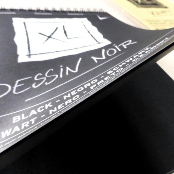 Bloc Canson XL - Dessin Noir Papiers:40F / 29,7x42 A3 - Photo n°4