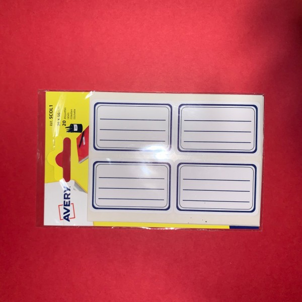 Étiquette auto-adhésives - Photo n°2