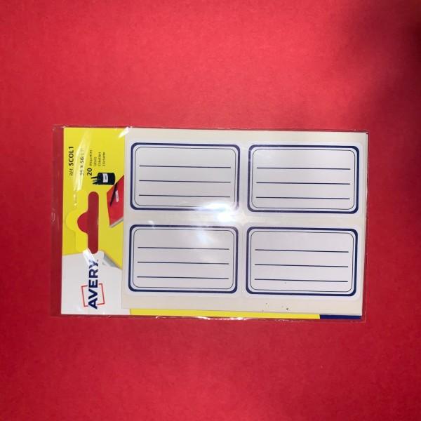 Étiquette auto-adhésives - Photo n°1