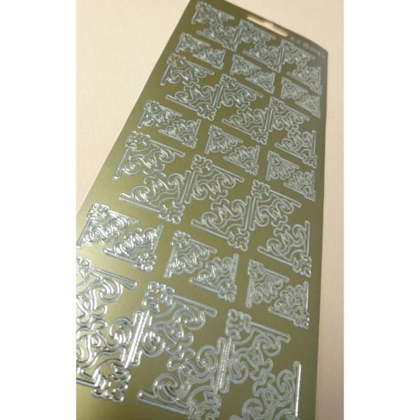 Stickers décoration en or - Photo n°1