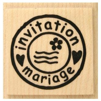 Tampon Mariage Timbre mariage