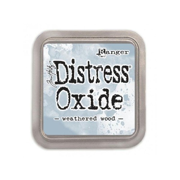 Encreur Distress Oxide  Weathered wood  Ranger - 7,5 x 7,5 cm - Photo n°1