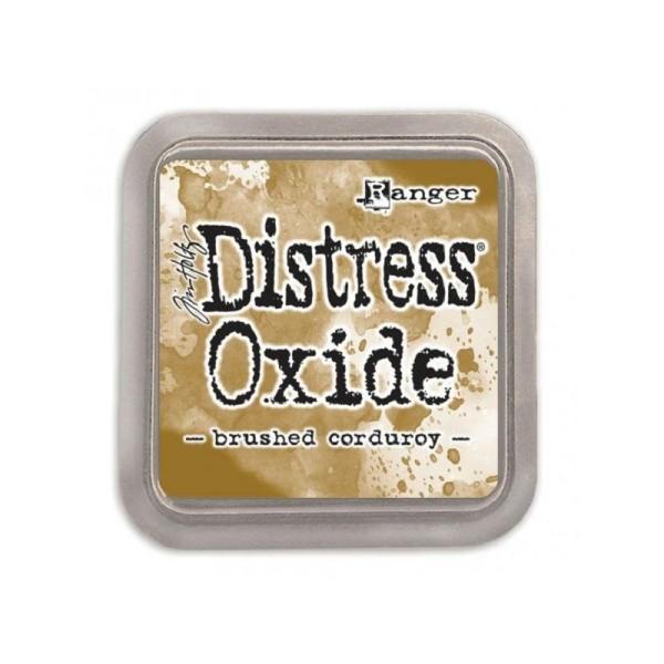 Encreur Distress Oxide  Brushed corduroy Ranger - 7,5 x 7,5 cm - Photo n°1