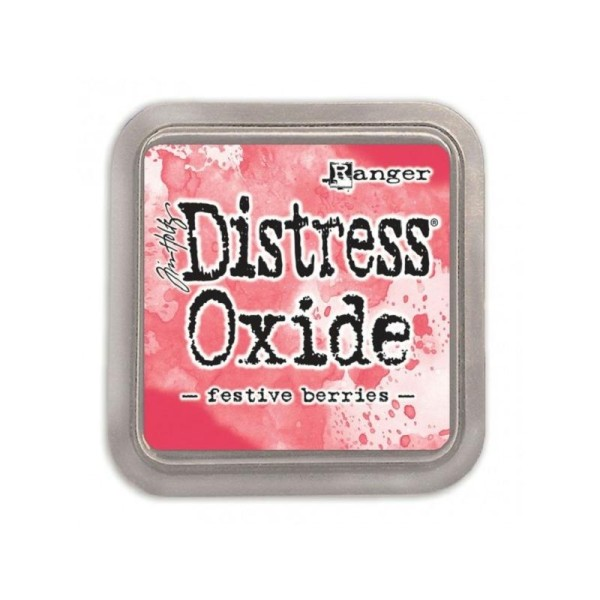 Encreur Distress Oxide  Festive berries de Ranger - 7,5 x 7,5 cm - Photo n°1