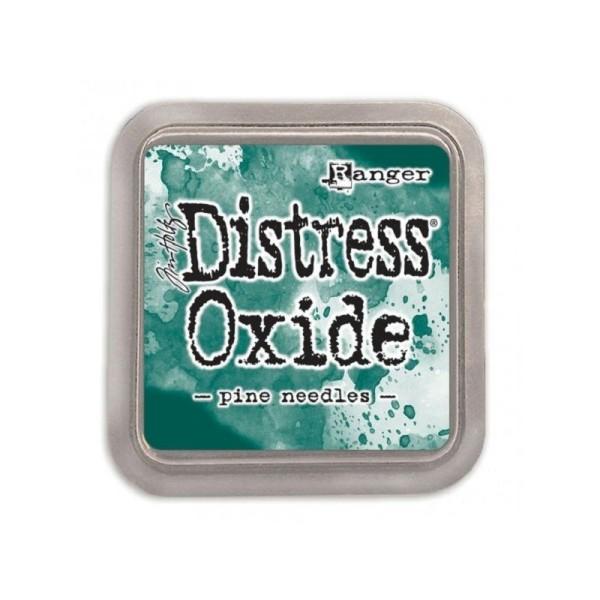 Encreur Distress Oxide Pine needles de Ranger - 7,5 x 7,5 cm - Photo n°1