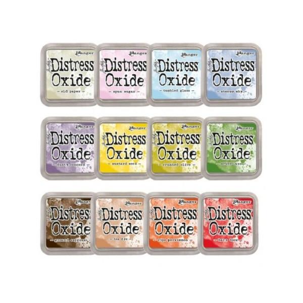 Encreur Distress Oxide Tea dye de Ranger - 7,5 x 7,5 cm - Photo n°2