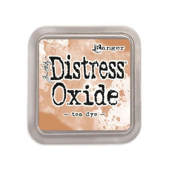 Encreur Distress Oxide Tea dye de Ranger - 7,5 x 7,5 cm - Photo n°1
