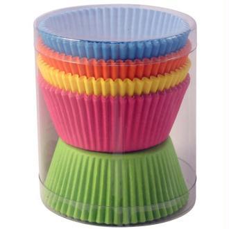 Caissette de cupcakes couleur grand modèle x 100