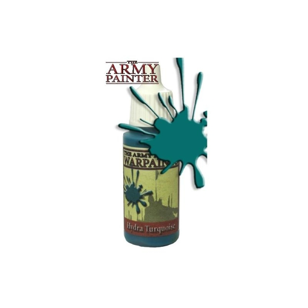 Army Warpaints Hydra Turquoise Peinture Acrylique Pot 18 Ml Army