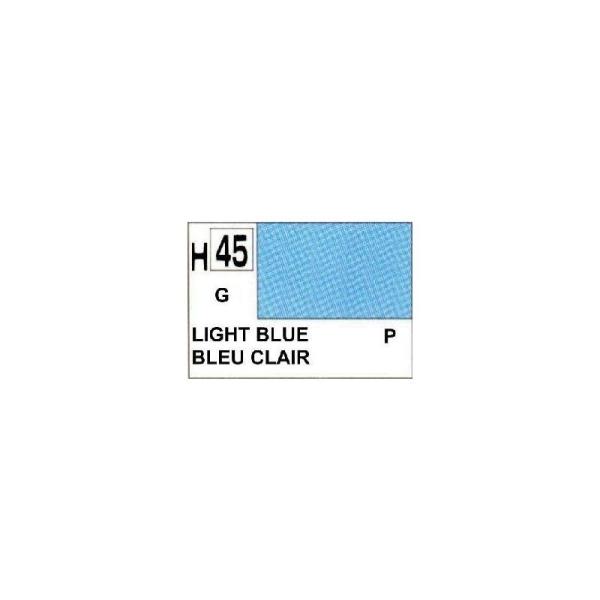 Bleu Clair Brillant peinture acrylique 10 ml - Gunze H45 - Photo n°1