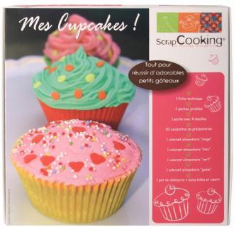 Coffret atelier - Mes cupcakes