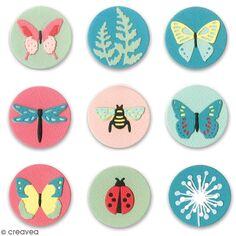 Matrice Sizzix Thinlits - Papillons & cie - 10 pcs