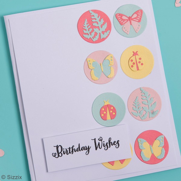 Matrice Sizzix Thinlits - Papillons & cie - 10 pcs - Photo n°2