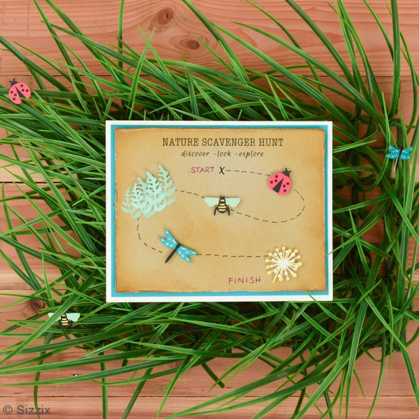 Matrice Sizzix Thinlits - Papillons & cie - 10 pcs - Photo n°4