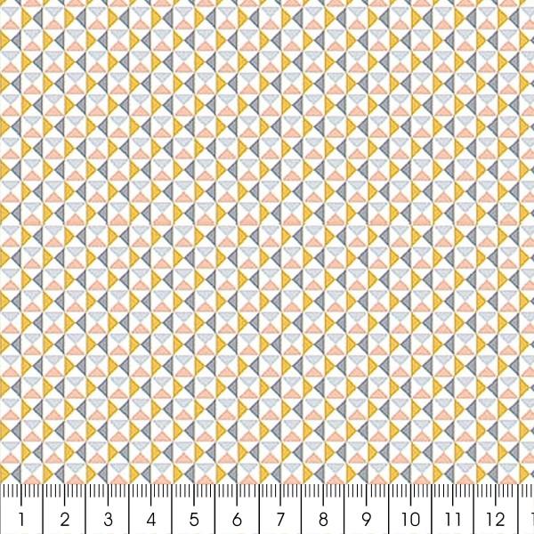 Grand coupon de tissu coton microfibre - Collection Menphis - Carreaux - 300 x 160 cm - Photo n°2