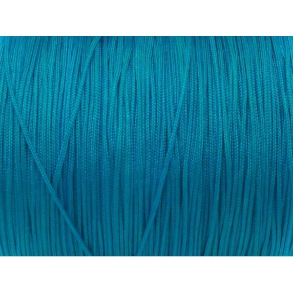 10m Fil De Jade 1mm Bleu Turquoise - Idéal Pour Bracelet Wrap - Photo n°2