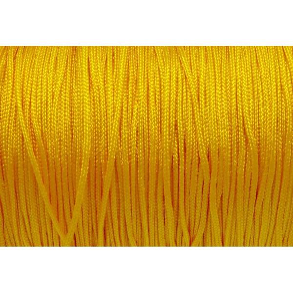 10m Fil De Jade 0,8mm De Couleur Jaune Bouton D'or Moutarde - Idéal Noeud Coulissant - Wrap - Shamb - Photo n°2