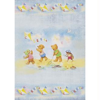 1 feuille de papier de découpage collage 21 x 29,7 cm BEBE ENFANT NOUNOURS 115