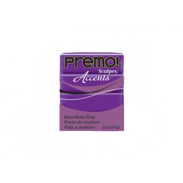 Pâte Sculpey Premo Accents 57g Purple Pearl N°5031 - Photo n°1