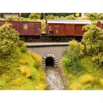 Buse d'écoulement en forme de tunnel  - Echelle HO