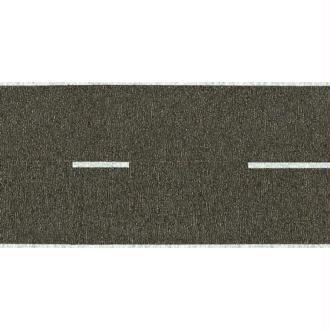 Route nationale, grise  - Echelle HO