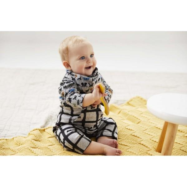Pochette patron bébé du 1 au 12 mois, 3 en 1 SALOPETTE, tee-shirt et Bandana ! - Photo n°2