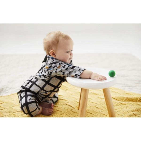 Pochette patron bébé du 1 au 12 mois, 3 en 1 SALOPETTE, tee-shirt et Bandana ! - Photo n°3