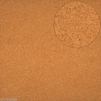 Papier scrapbooking Bazzill - Liège - Marron - 30 x 30 cm