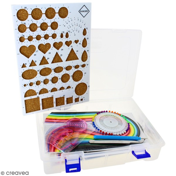 Set quilling débutants - 406 pcs - Photo n°2