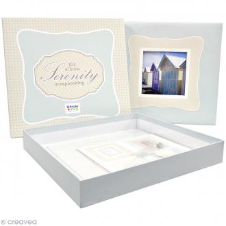 Kit album Scrapbooking - Serenity