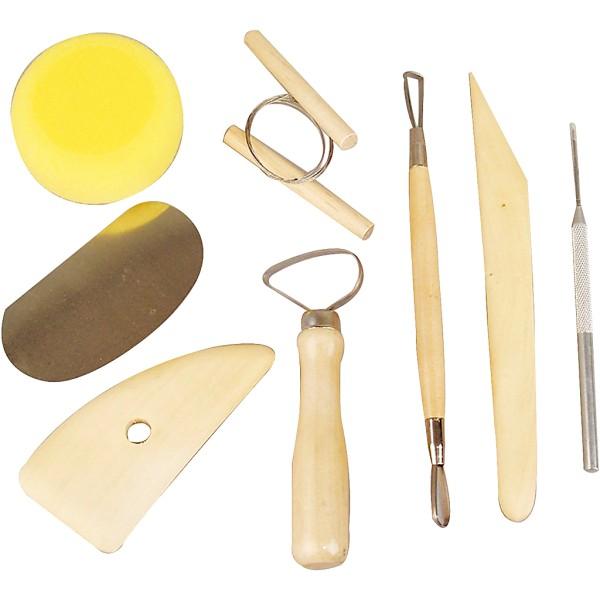 Assortiment d'outils de sculpture - 8 pcs - Photo n°1