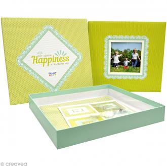 Kit album Scrapbooking - Happiness