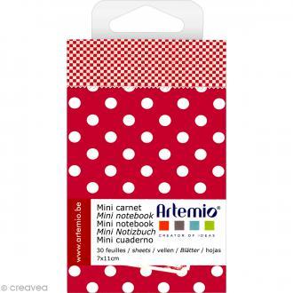 Mini carnet scrapbooking Campagne Artemio - 7 x 11 cm