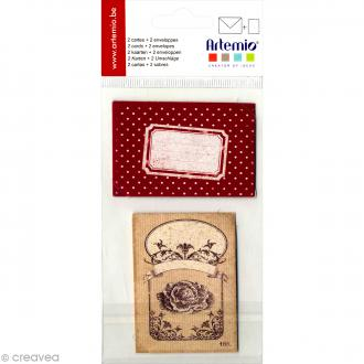 Kit mini carterie Campagne - 4 pcs