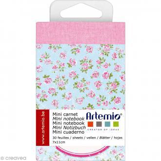 Mini carnet scrapbooking Sweet Artemio - 7 x 11 cm