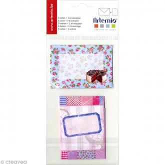 Kit mini carterie Sweet - 4 pcs