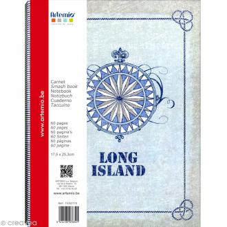 Carnet Smash book Long Island Artemio
