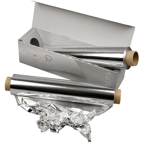 papier aluminium l 30 cm 150 m vaisselle jetable creavea. Black Bedroom Furniture Sets. Home Design Ideas