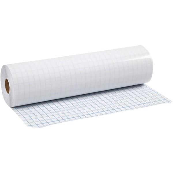Plastique à couvrir, ép. 80 microns, l: 28 cm, 25 m - Photo n°1