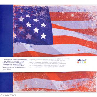 Album photo Scrapbooking New York - 32,5 x 36 cm