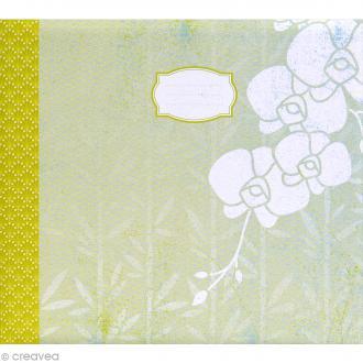 Album photo Scrapbooking Pure Fleurs - 32,5 x 36 cm