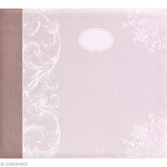 Album photo Scrapbooking Charme - 32,5 x 36 cm