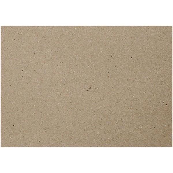 Feuilles de carton recyclé - A4 21 x 29,7 cm - 20 pcs - Photo n°1